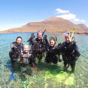 Discover Scuba Family Adventure in Galway